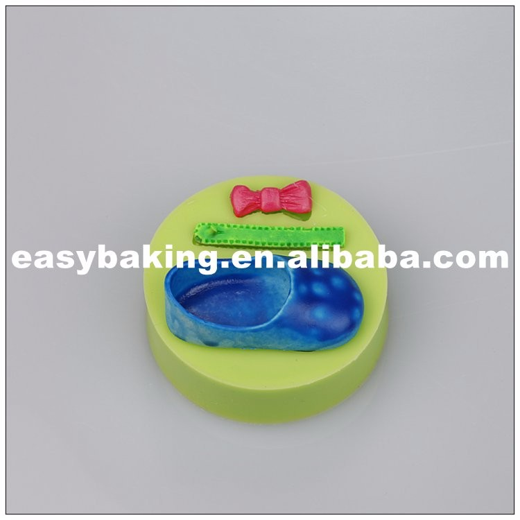 es-8414_Baby Accessories Celebrate Birthday Single Shoe Bow Silicone Mold Cake Decoration Tool_6847.jpg