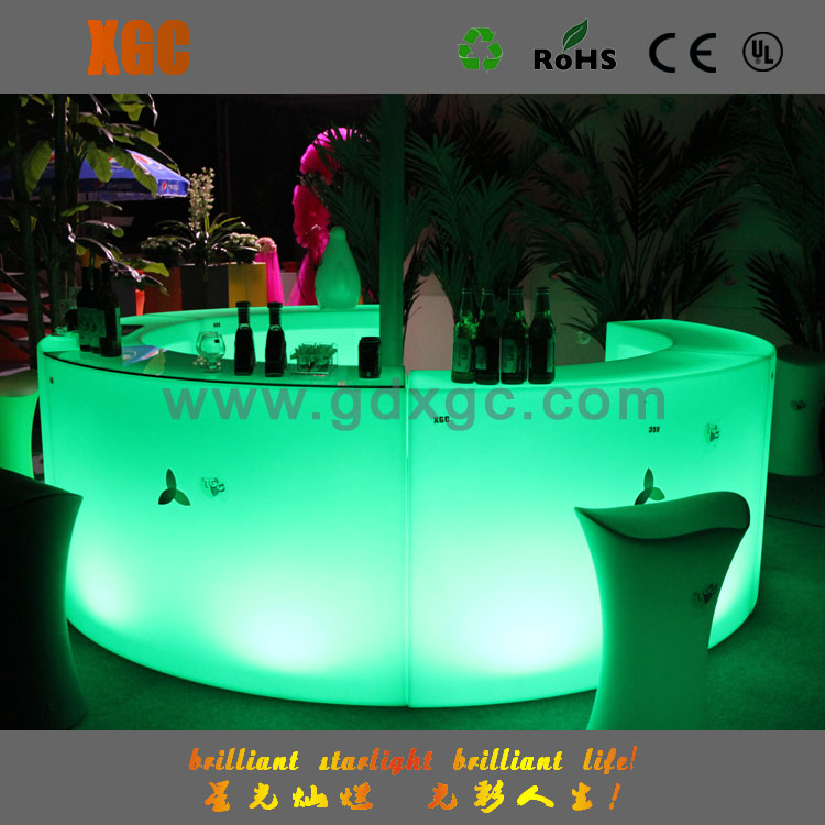 led event furniture/commercial counter/used commercial bar sale