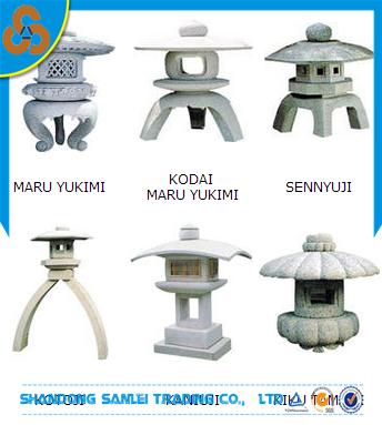 ext rieur sculpt lanterne de jardin et pagode japonaise. Black Bedroom Furniture Sets. Home Design Ideas