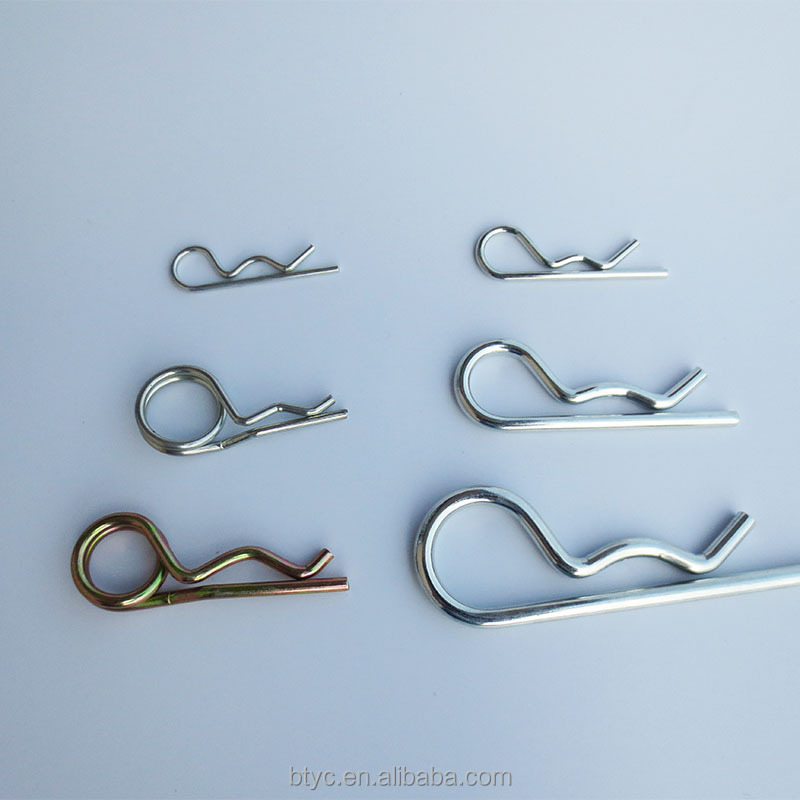 Hitch Pins Military Vehicle Truck Lorry Tractor Trailer Large Safety Pin R Clip NEW