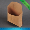 Small kraft paper french fries /chips fast food packaging boxes