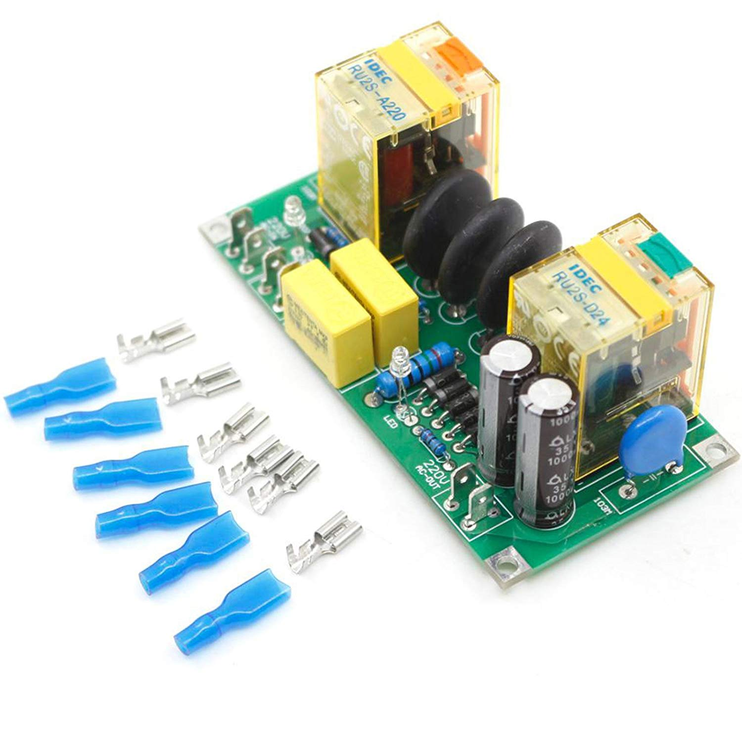 Cheap Current Source Power Supply Find Amp Capacitor Deals On Line At Get Quotations Class A Amplifier High Delay Soft Start Finished Plate 20a