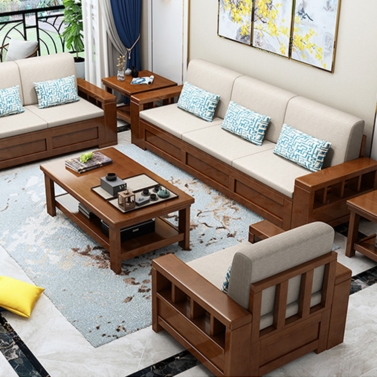 Double Bunk Wood Folding Wooden Sofa Bed Modern Sectional ...