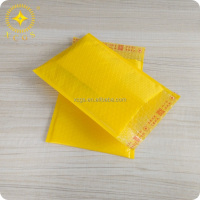 Bubble Lined Poly Envelopes/ Gold yellow Poly Bubble Lined Mailers/Poly Jiffy Mailing With Bubble Pad