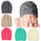 winter cute toddler children beanies knitted baby hat boys and girls fancy cotton baby bonnet