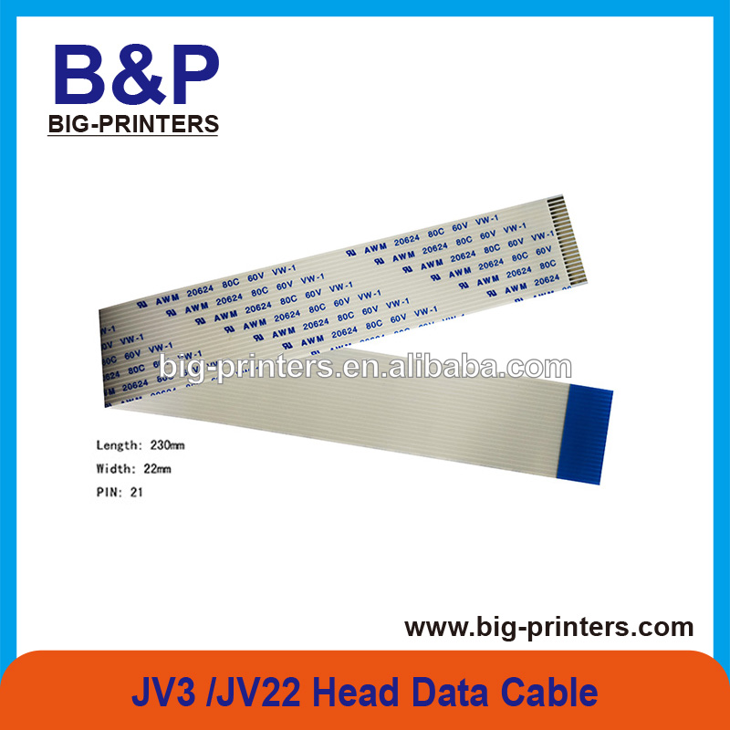 very good goods MIMAKI JV22-160 / JV22-130 printer 21pin (length: 230mm,width: 22mm) Head Data Cable