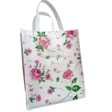 Promotional Top Quality Silk Printing Non Woven Shopper Bag