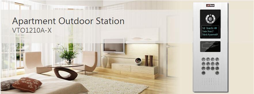 Dahua Video Intercom Apartment Outdoor Station Vto1210a-x