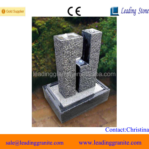 Garden stone water fountain direct from China