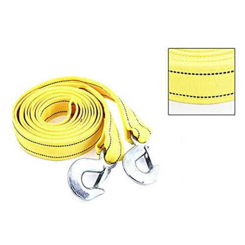 Большое содействие 4 м 5 тонн желтый нейлон пружиной буксировка аварийной буксировки ремешок