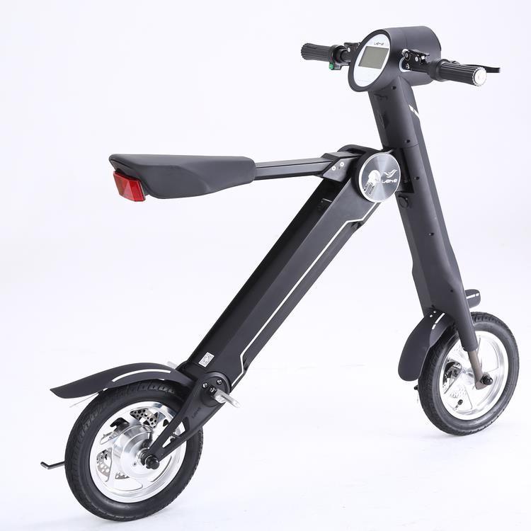 12 Inch Mini Folding Electric Bike E Scooter 15 20 Mph