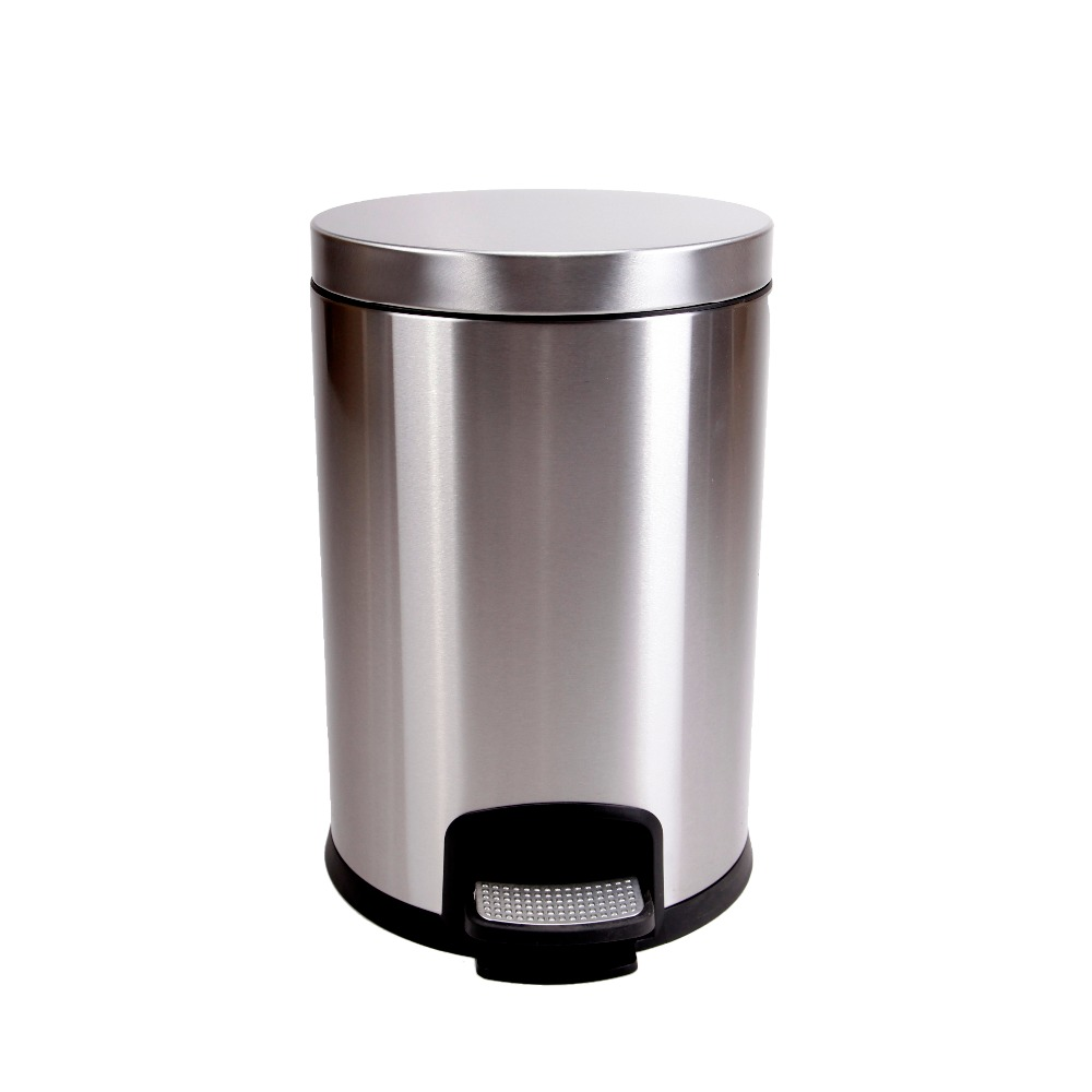 Wholesale Luxury Metal Rubbish multipurpose recycle bin with high quality