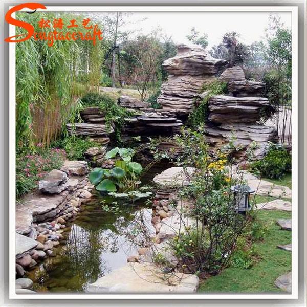 Dise o de juegos de agua y cascadas con pool pump indoor - Diseno jardines online ...