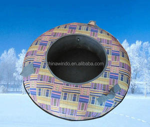 Popular Winter Sports Snow Tube Inflatable Snow Slide