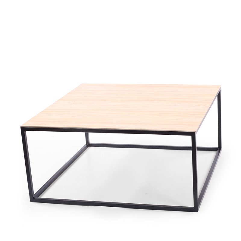 Metal Frame Coffee Table with ceramic top