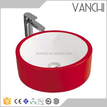 Lavabo Caravana.Caravana Color Rojo Lavabo De Ceramica Hecho A Mano Fregaderos Buy Mano Se Hunde Caravana Lavado A Mano Lavabo Camping Product On Alibaba Com