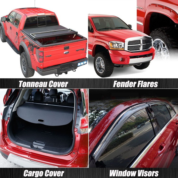 For ranger T6 Double bed pickup truck accessories bed cover