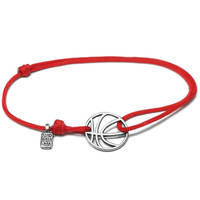 Amazon Hot Selling Simple Basketball Bracelet Adjustable Many Colorful Cheap Bracelets
