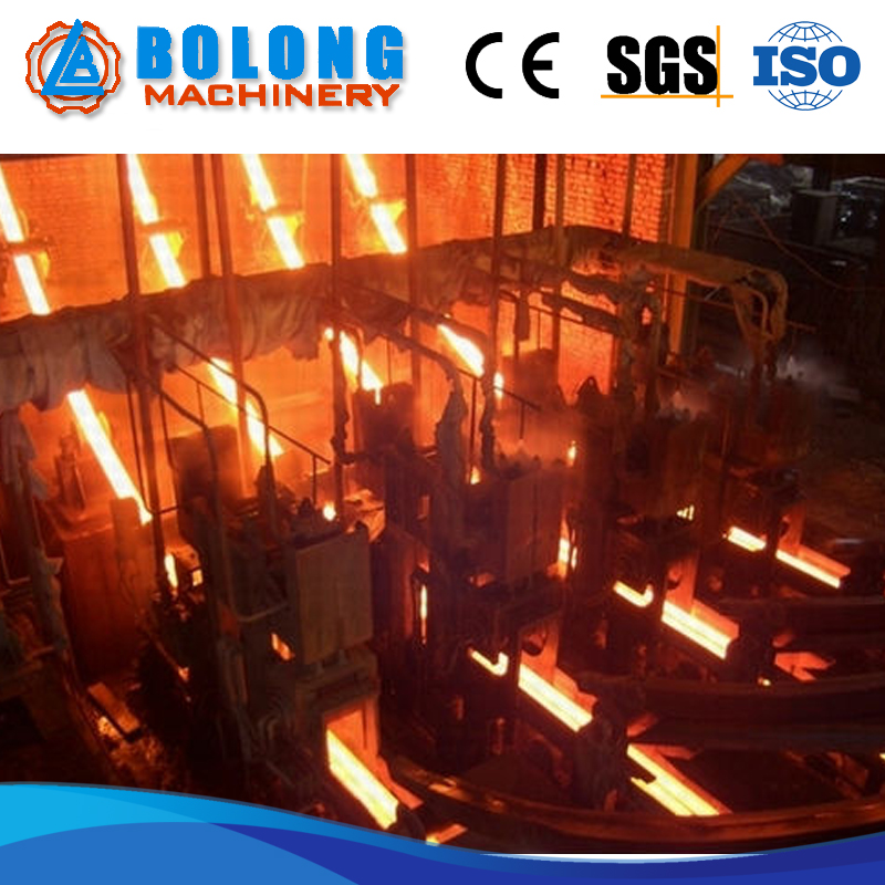 full automatic copper rod die continuous casting machine