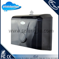 Commercial push towel holder paper dispenser with private label