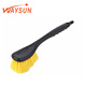 Abrasive Wire Brushes Grip Flo-thru Stainless Steel Nylon With Tpr Wiper Window Wipe Fiber Mini Soft Car Wheel Cleaning Brush