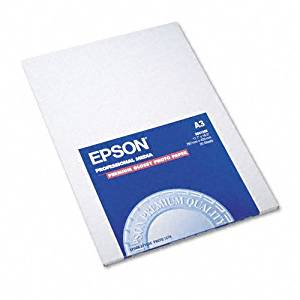 Epson : High-Gloss Premium Photo Paper, 11-3/4 x 16-1/2, 20 Sheets per Pack -:- Sold as 2 Packs of - 20 - / - Total of 40 Each