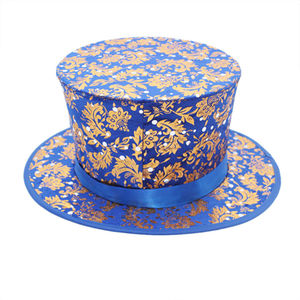 Magic Tricks hat folding top Costume Stage Prop Magician's Hat magic hat blue Party Magic