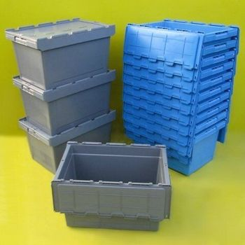 Turnover Dolly Easy Moving Plastic Storage Box With Lock And Key