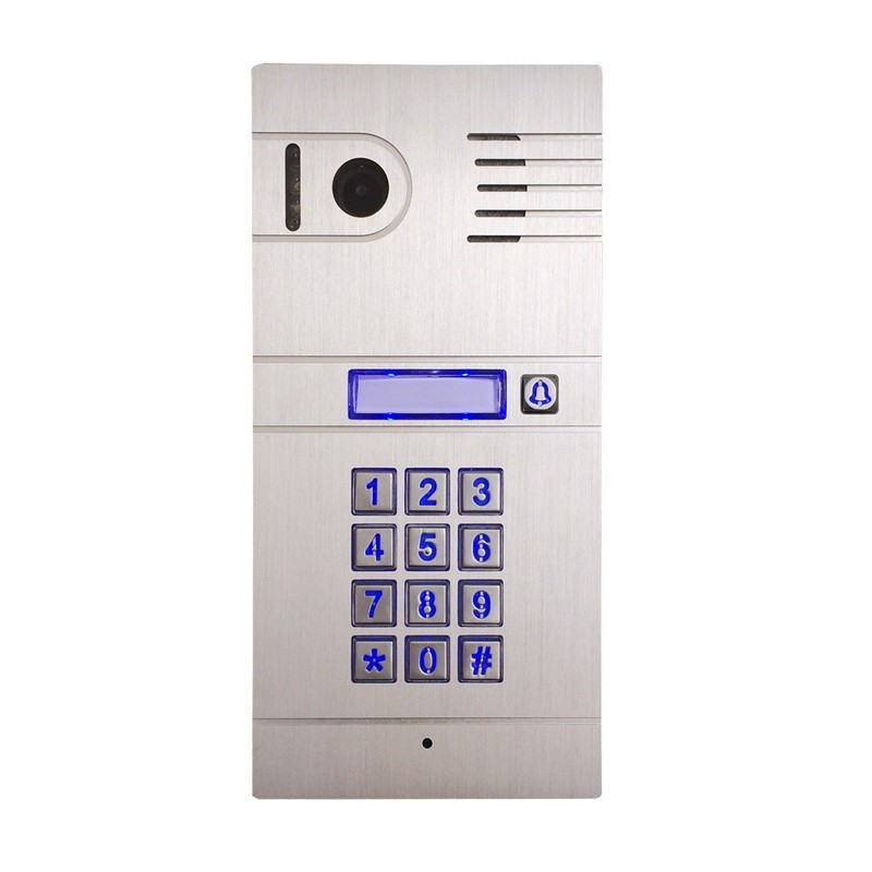 Brand new wireless wifi doorbell with high quality lens,supporting remote viewing and unlocking via app on smartphone