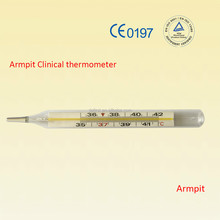Armpit Mercury Clinical thermometer