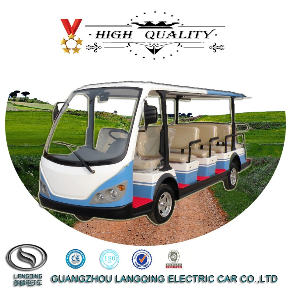 CE approved 14 seater Electric Automobile for sale