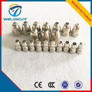 Professional p80 gas cutting nozzle plasma cutter torch
