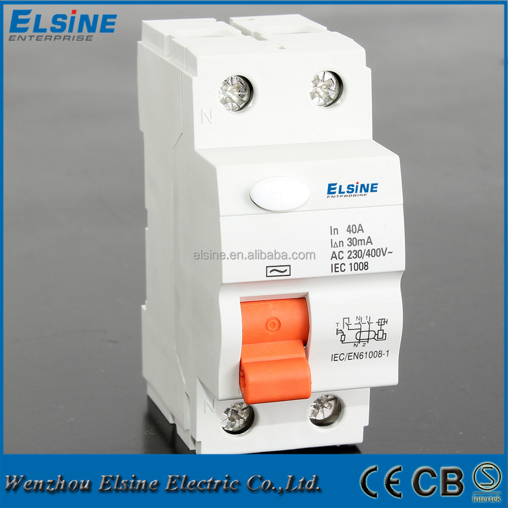 Magnetic type 2 Pole 40A 30mA MNL elcb 2 pole, elcb 2 pole suppliers and manufacturers at alibaba com 2 pole rcd wiring diagram at reclaimingppi.co