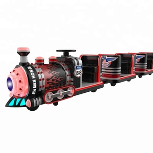 mini train trackless rides for sale small amusement park trains for sale