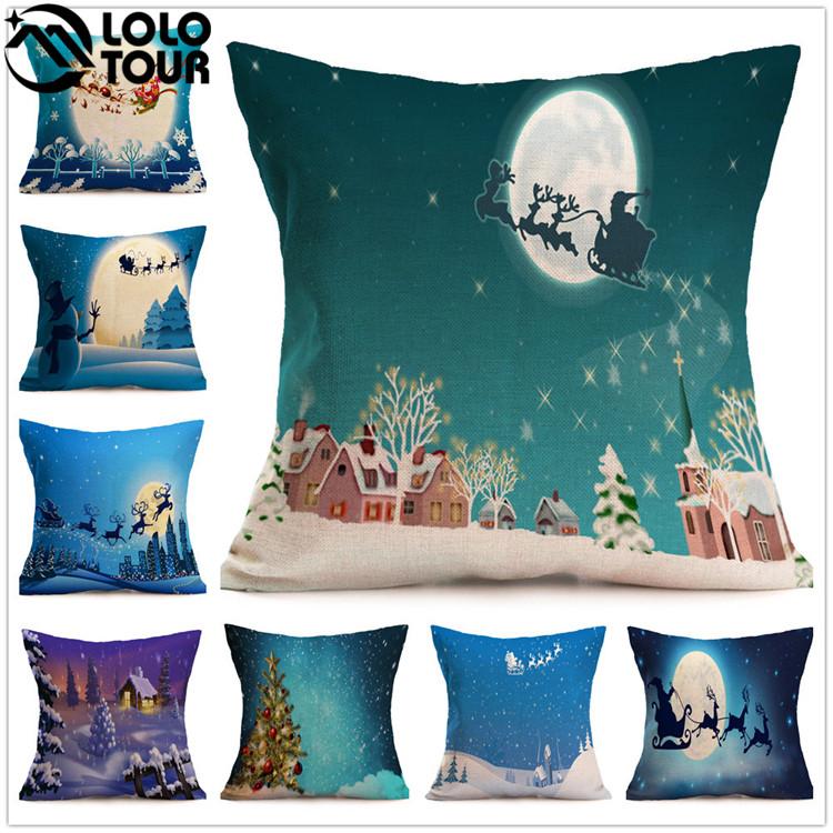 Alibaba Hot Sale Custom Merry Christmas Pattern Cushions Decorative  Christmas Throw Pillow - Buy Christmas Pillow,Christmas Decorative ...