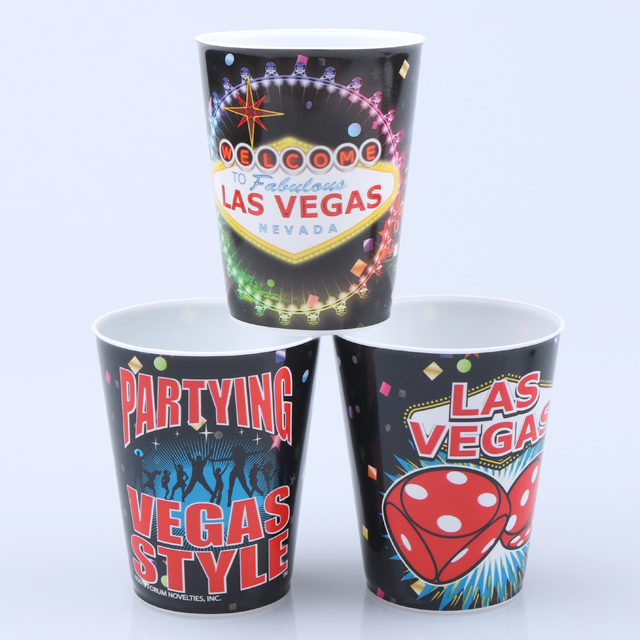 Hen party custom wine plastic cup colorful print logo on plastic cup