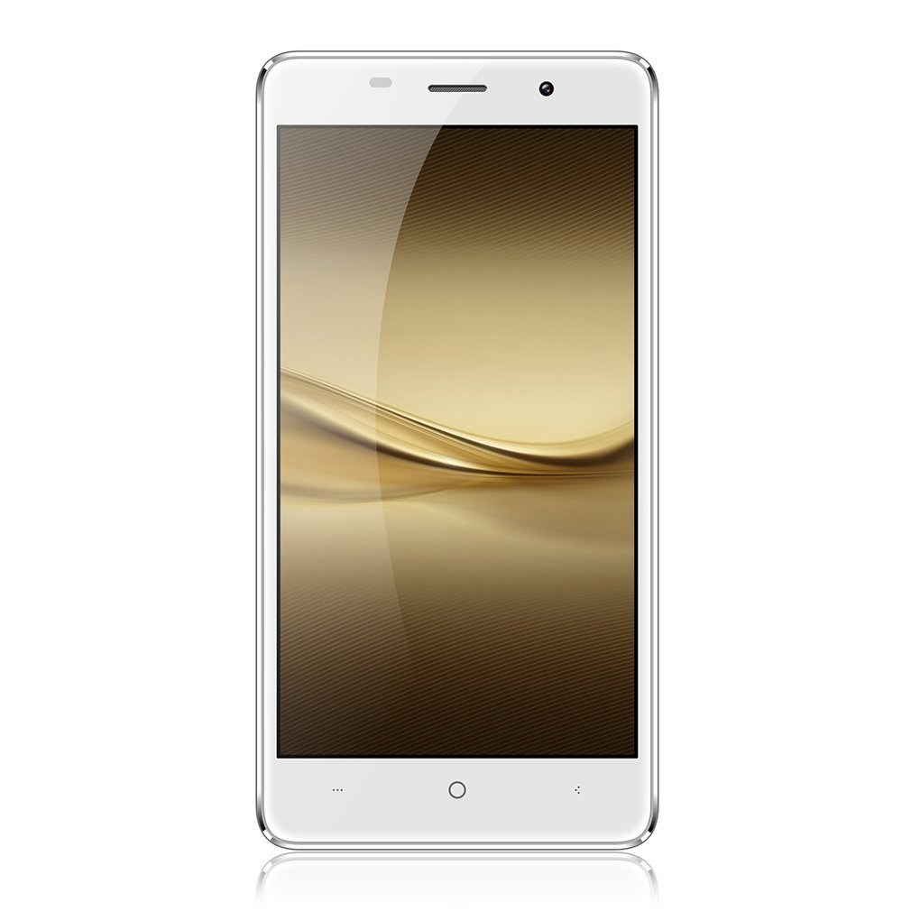 YKS Unlocked Cellphone, Android OS 6.0 Smartphone,3G Mobile 5'' HD Display, Dual Sim, 5MP Camera, 2GB RAM 16GB ROM-White