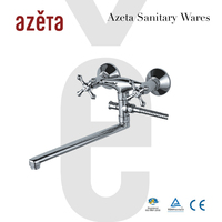 New Products On Market Commercial Two Handle Tub Tap