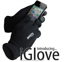 3 Touch Fingertips TouchScreen Gloves Winter Warm Knitted iGlove with Package for All Mobile Phones