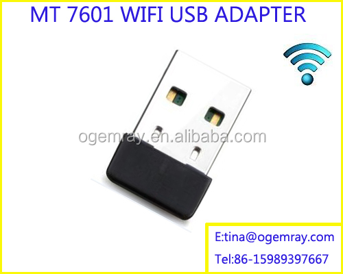 USB WiFi Adapter Gold Nano Laptop Network Dongles Maximum Speed up to 2.4G 150Mbps - WPS Wireless Network Adapter
