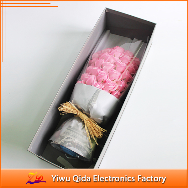 wholesale custom soap flower best gift for valentine's day