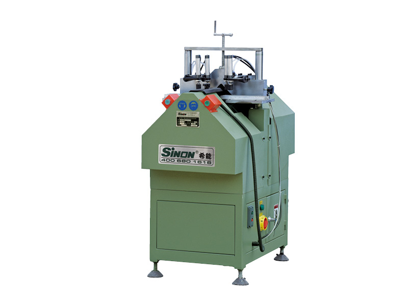 Pvc glazing bead cutting machine plastic window door making machine