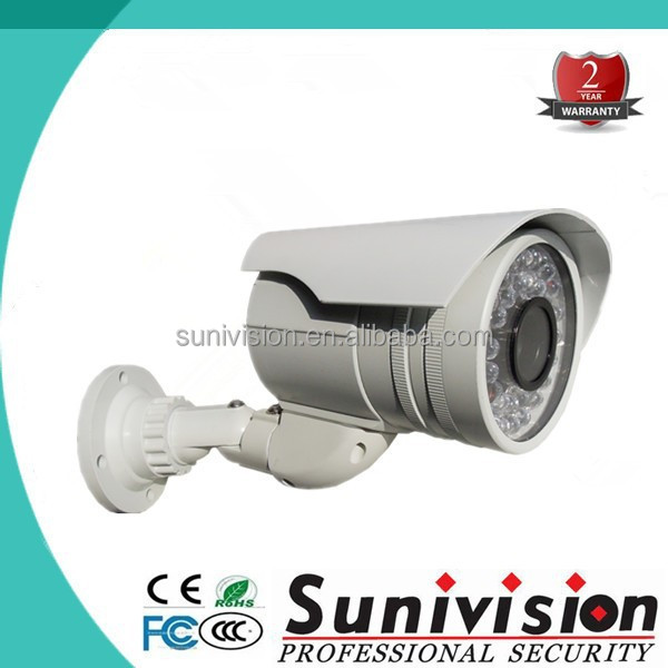 36pcs ir leds easy to install 1 megapixel bullet ip camera