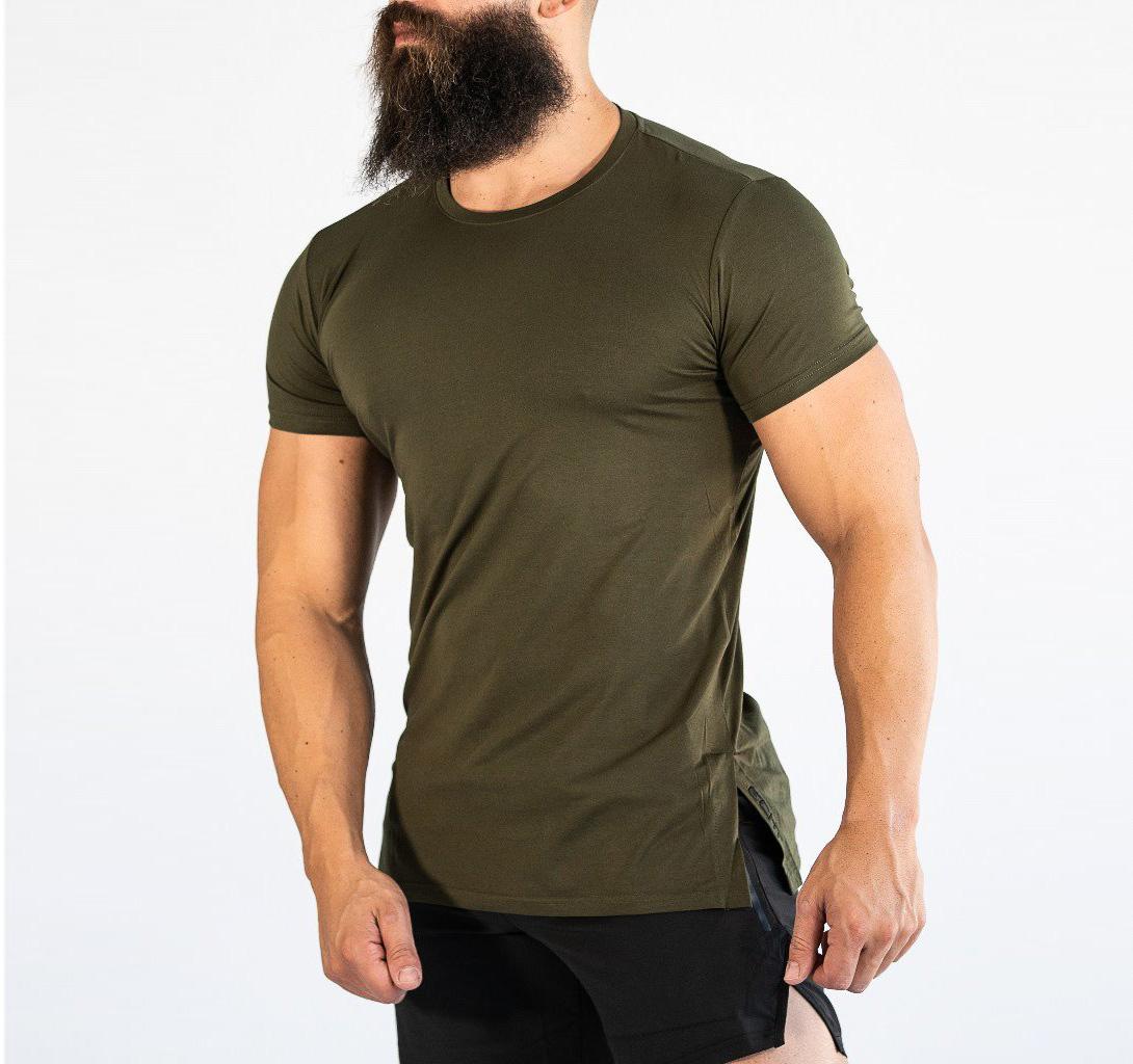 Short Sleeve Gym Clothing Mens T Shirts