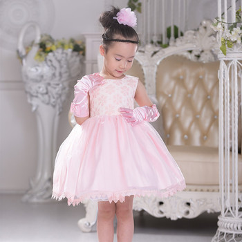 Western Gowns Party Dresses Of Embroidered Pattern For Kids From ...