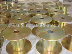 Steel reel spools for copper wire,aluminum wire drawing