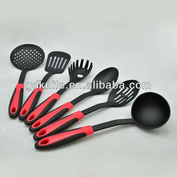 6pcs nylon kitchen tools kitchen utensils kitchenware set for Kitchen tool set of 6pcs sj