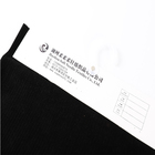 Plain Black Fabric Black Super Soft Four-sided Stretch Knitted Plush Home Textile Fabric