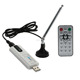 Digital DVB T2 USB TV Stick dongle Tuner USB2.0 HDTV Receiver+ Antenna + Remote Control for DVB-T2, DVB-T, DVB-C,VHF-/UHF band
