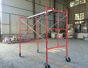 Powder coated 1219 Mason walkthrough H frame scaffold